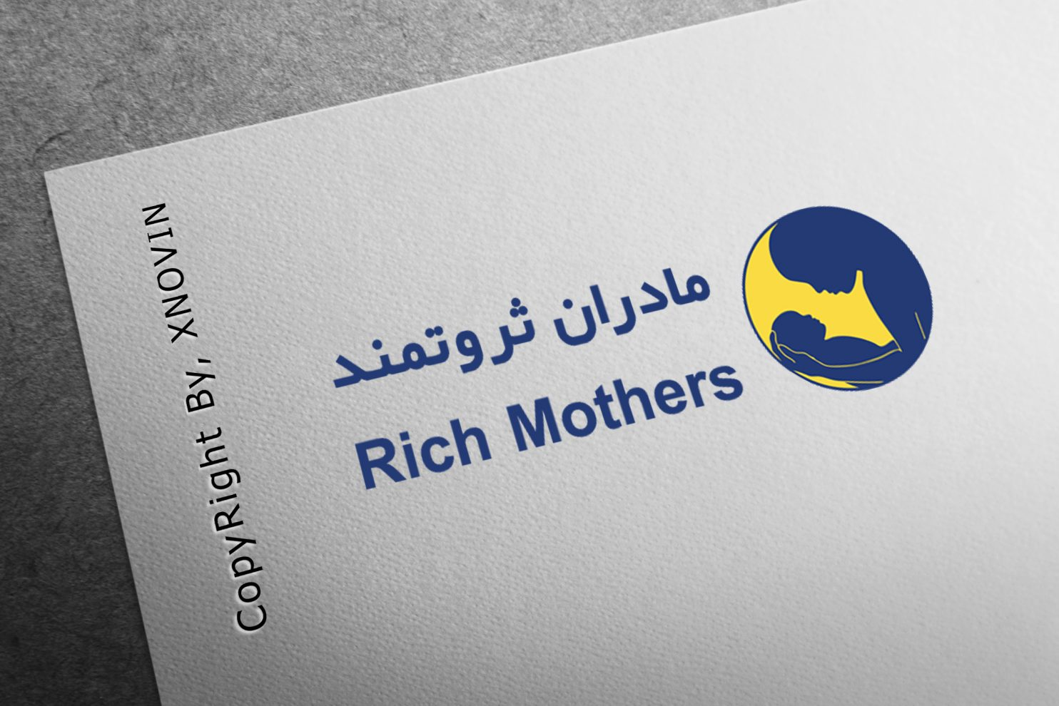 Rich Mothers Logo 1484x990 - طراحی و ساخت سایت مادران ثروتمند به همراه لوگو